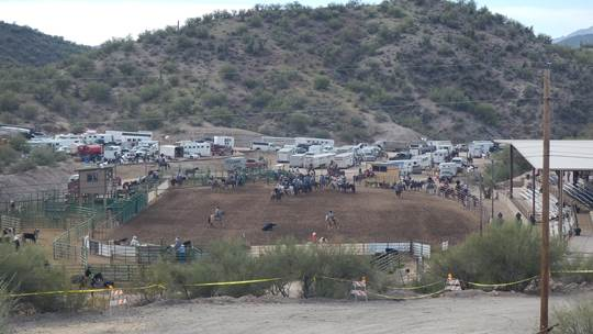 Entire Rodeo Arena